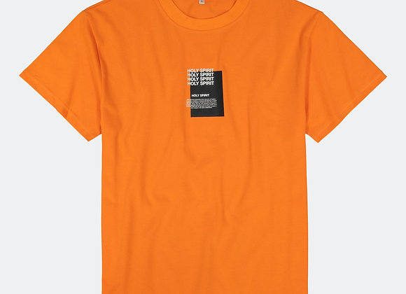 Apostle Club HOLY SPIRIT T-Shirt | safety orange