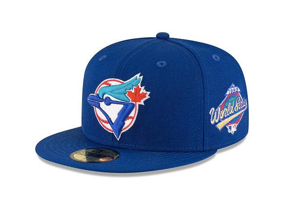 New Era TORONTO BLUE JAYS 1993 World Series  5950 Hat | blue