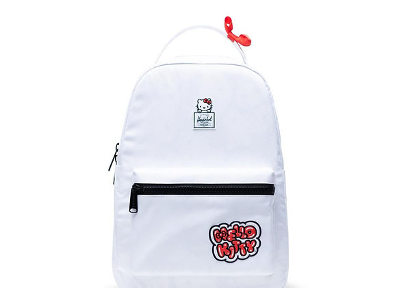 Herschel X HELLO KITTY NOVA Mid Backpack | white