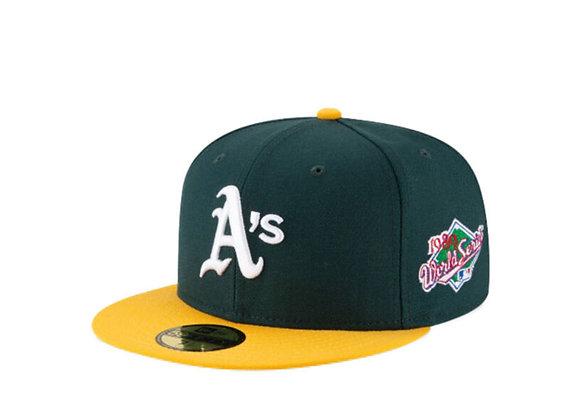 New Era OAKLAND ATHLETICS 5950 1989 World Series Hat