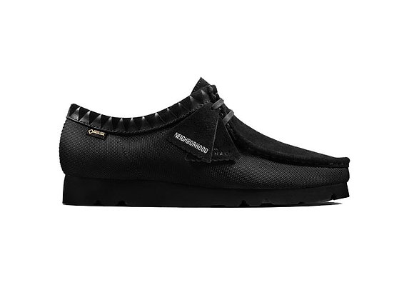 Clarks Originals X Neighborhood Wallabees | black synthetic