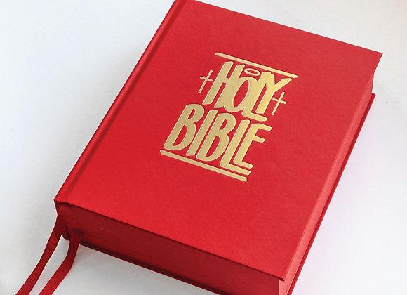 GPC NIV HOLY BIBLE | eric haze edition
