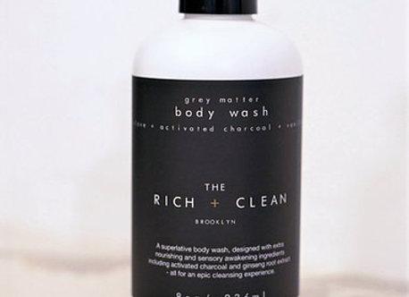 the Rich + Clean GREY MATTER Body Wash | 8oz