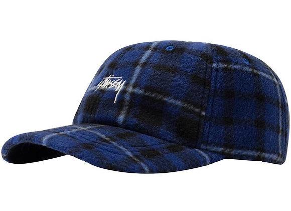 Stussy POLAR FLEECE Low Pro Cap | blue