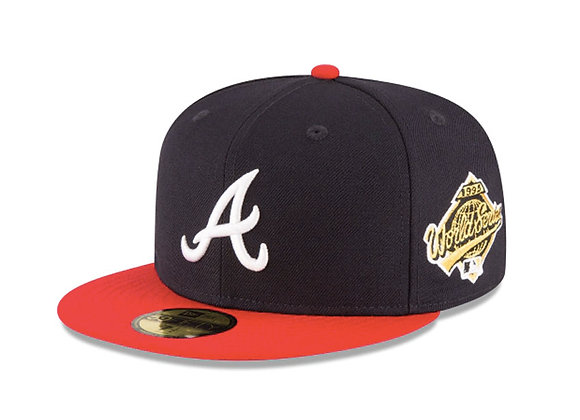 New Era ATLANTA BRAVES 1995 World Series 5950 Fitted Hat