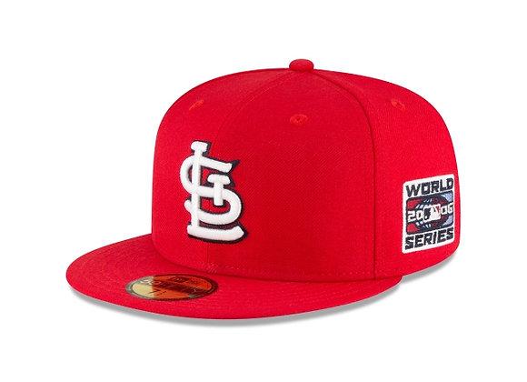 New Era ST LOUIS CARDINALS 2006 World Series  5950 Hat | red