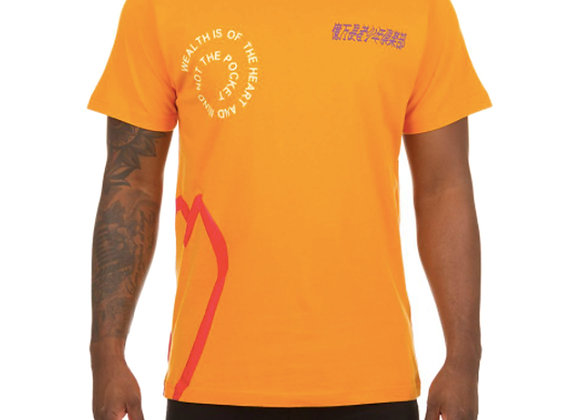 Billionaire Boys Club BB ORBIT T-Shirt | flame orange