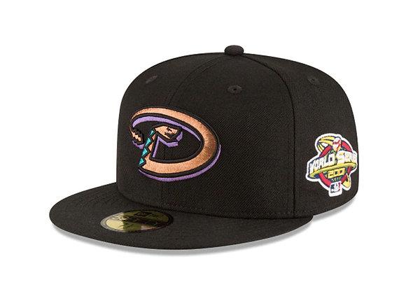 New Era ARIZONA DIAMONDBACKS 2001 World Series 5950 Fitted Hat