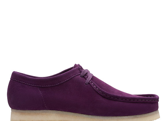 Clarks WALLABEES   deep purple