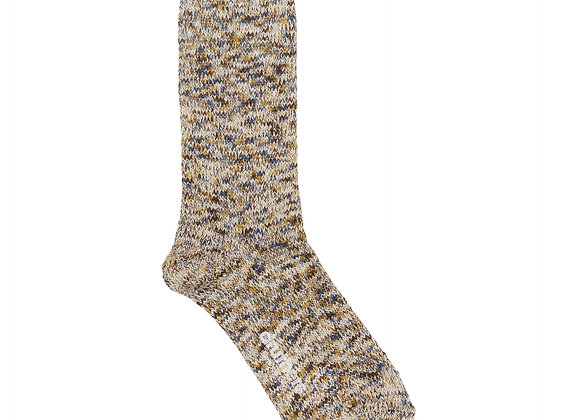 Druthers NYC RECYCLED COTTON MELANGE Crew Sock | riviera