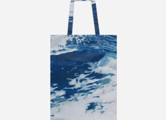 Stampd MAKING WAVES Tote   ocean print