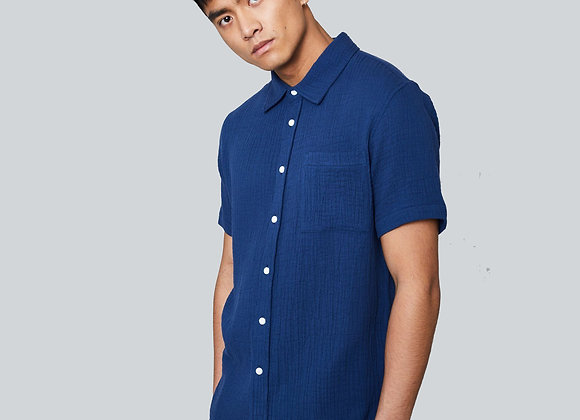 Native Youth CARLSON Shirt | navy