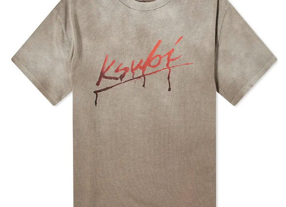 Ksubi FLINT BIGGIE T-Shirt | ombre grey