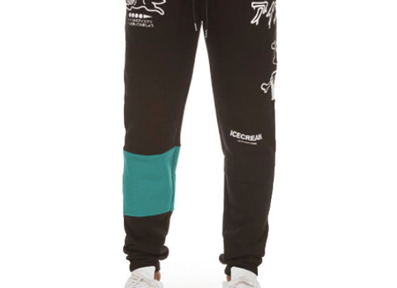 Ice Cream GLOBAL Jogger Pant | black