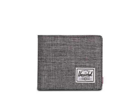 Herschel Supply Co HANK Wallet | raven crosshatch/black