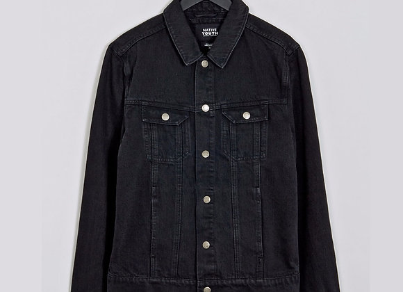 Native Youth BLACKGATE Denim Jacket | black