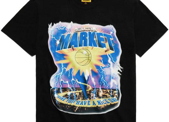 Chinatown Market TORNADO T-Shirt | black