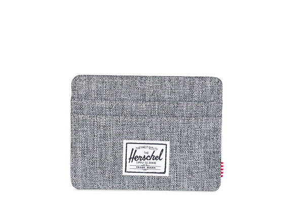 Herschel Supply Co CHARLIE Wallet | raven crosshatch/RFID
