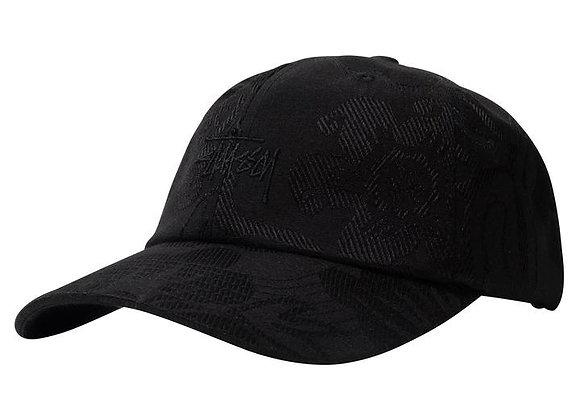 Stussy JACQUARD HAWAIIAN Low Pro Cap | black