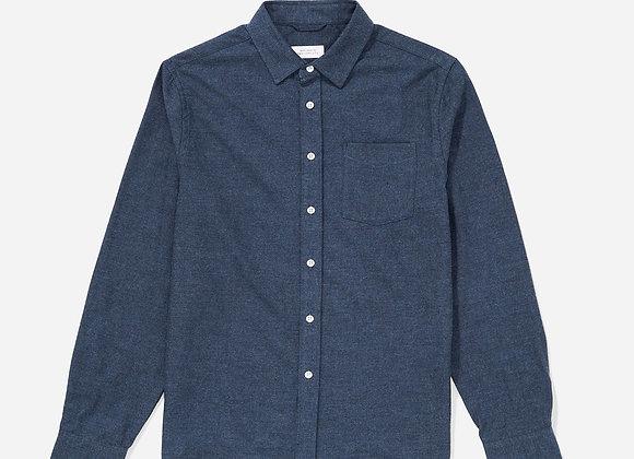 Saturdays NYC CROSBY Flannel L/S Shirt | midnight