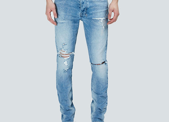 Ksubi CHITCH PUNK BLUE TRASHED Denim | light washed