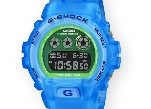 G-Shock DW6900LS-2 Watch | blue