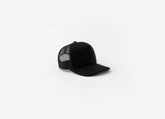 Stampd NEOPRENE Blended Trucker Hat | black