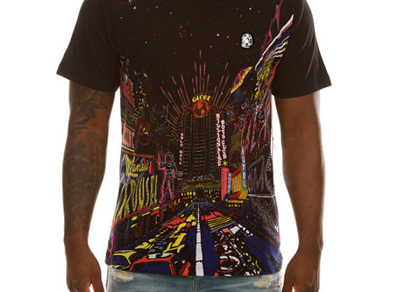 Billionaire Boys Club CITY LIGHTS T-Shirt   black