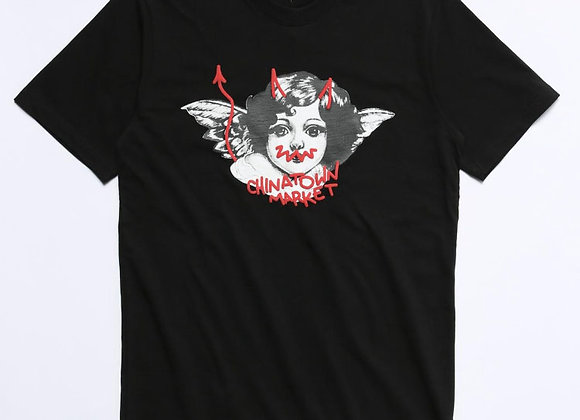 Chinatown Market ANGEL T-Shirt | black