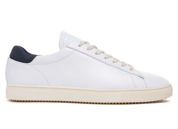Clae BRADLEY | white leather/navy