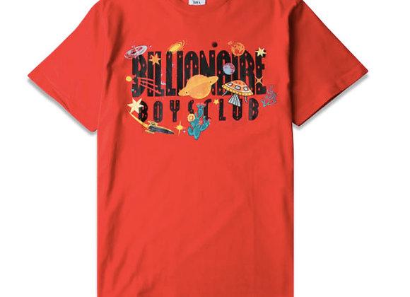 Billionaire Boys Club UNIVERSE T-Shirt | flame scarlett