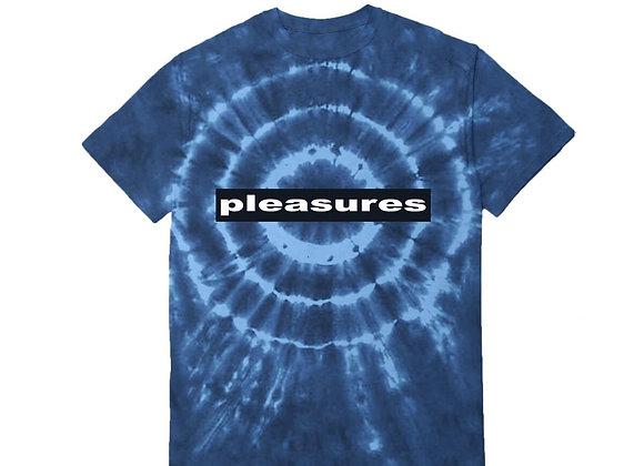 Pleasures SURREALISM TYE DYE T-Shirt | blue