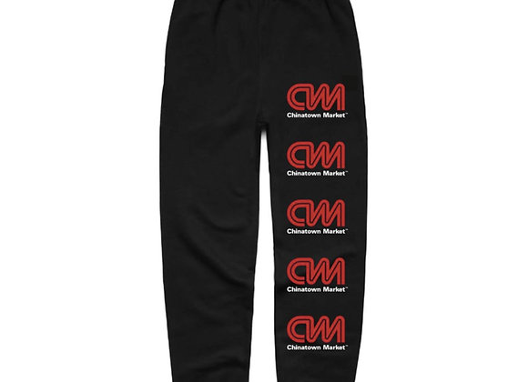 Chinatown Market CNN Sweatpants | black