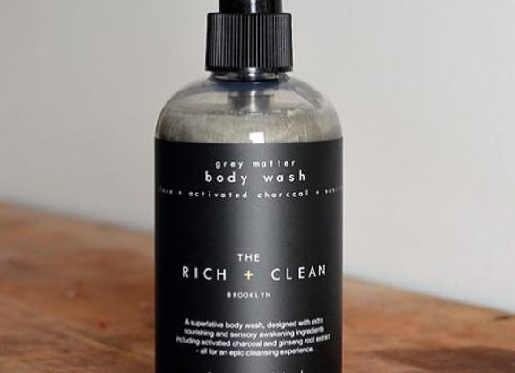 the Rich + Clean GREY MATTER Body Wash | 8oz