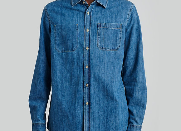 Saturdays NYC KENMARE DENIM Shirt | washed blue