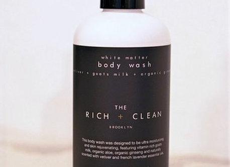 Rich + Clean WHITE MATTER Body Wash