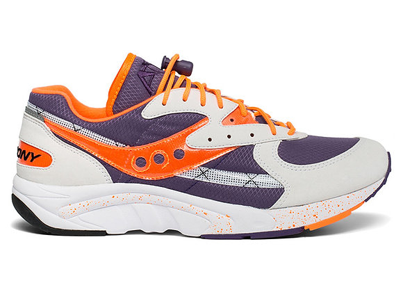 Saucony AYA Sneaker | white/purple/orange