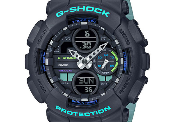 G-Shock S Series Watch GMAS140 | subdued teal