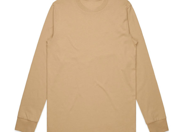 Evolve CORE Premium Long-Sleeve T-Shirts | beiged