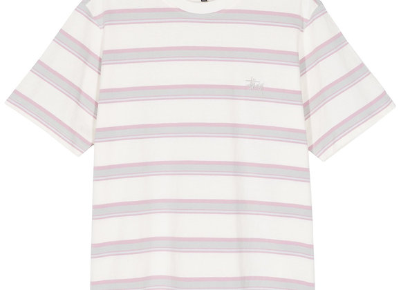 Stussy HARBOUR STRIPE Crew | natural