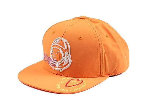 Billionaire Boys Club BB WEALTH Snapback Hat | flame orange