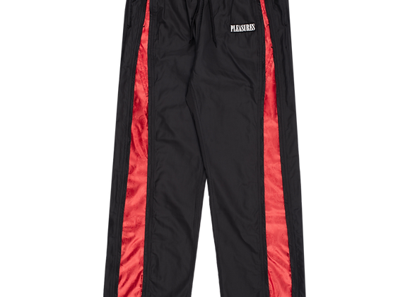 Pleasures BLAST Trackpant | black/red