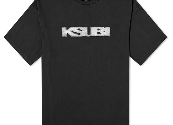 Ksubi SIGN OF THE TIMES T-Shirt | vintage black