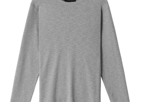 Wings + Horns Slub STANDARD Long Sleeve | h. grey