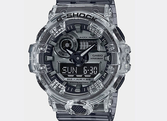 G-Shock GA700SK-1A Watch | skeleton series