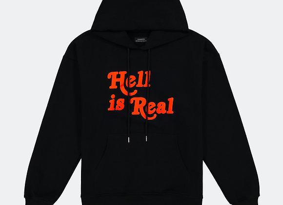 Apostle Club HELL IS REAL Hoodie | black