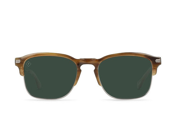 Raen WILEY ALCHEMY Polarized Sunglasses | savannah/green