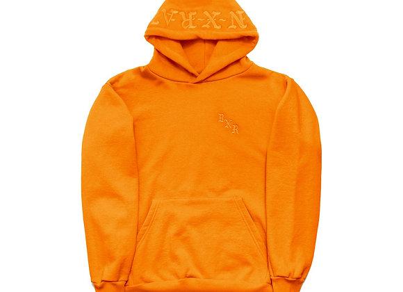 Born X Raised TONAL Embroidered Hoodie | orange