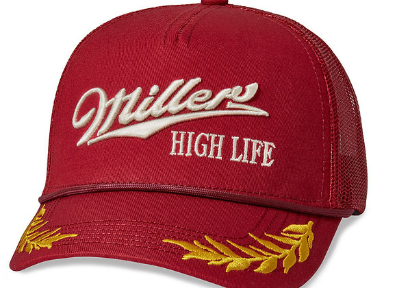 "Miller High Life ""General"" Trucker Hat 