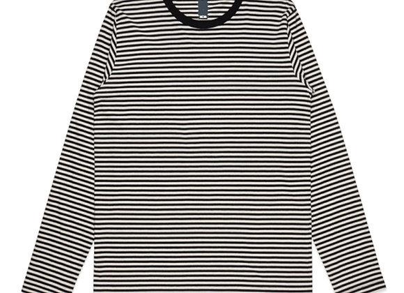 Evolve CORE Premium Stripe Long-Sleeve T-Shirt | black/off white